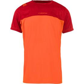 La Sportiva Crunch T-Shirt Men Pumpkin/Chili